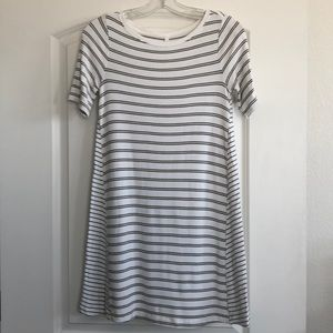 Lou & Grey signature soft striped swing dress